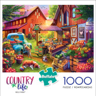 Country Life Bells Farm 1000 Piece Jigsaw Puzzle Box