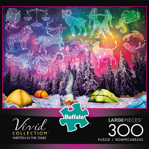 Vivid Written In The Stars 300 Piece Jigsaw Puzzle Box