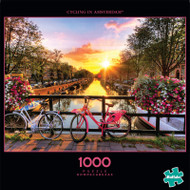 Photography Cycling in Amsterdam 1000 Piece Jigsaw Puzzle Box