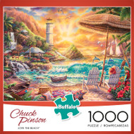 Chuck Pinson Escapes Love The Beach 1000 Piece Jigsaw Puzzle Box