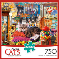Cats Steve Read Curiosity Shop Cat 750 Piece Jigsaw Puzzle Box