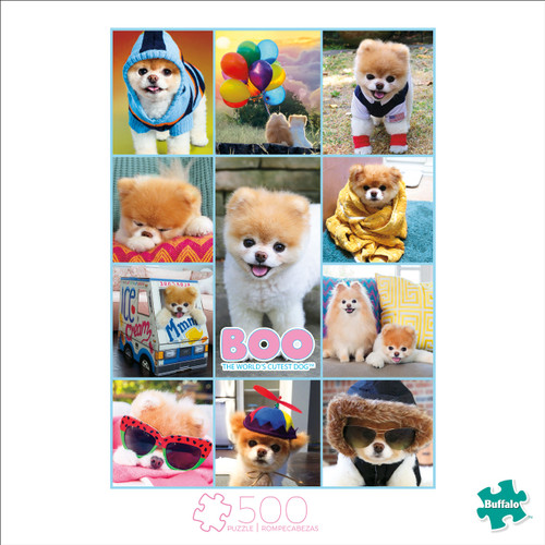 Art of Play Boo Collage 500 Piece Jigsaw Puzzle Box