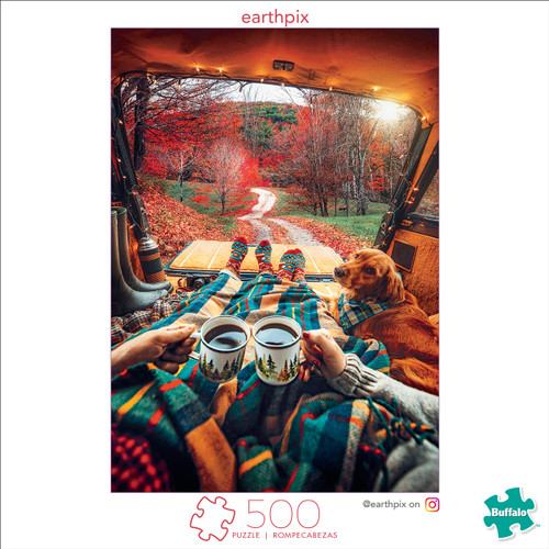 Earthpix Happy Trails 500 Piece Jigsaw Puzzle Box