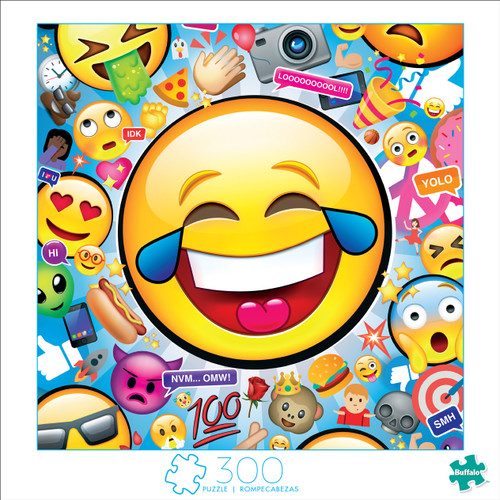 Art of Play Emojis 300 Large Piece Jigsaw Puzzle Box