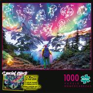 Special Effects Zodiac Mountain Glow in the Dark 1000 Piece Jigsaw Puzzle Box