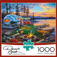 Darrell Bush Camping Reflections 1000 Piece Box