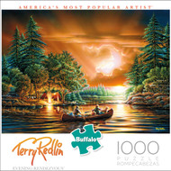 Terry Redlin Evening Rendezvous 1000 Piece Box
