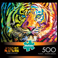 Amazing Nature Stripes of Color 500 Piece Box