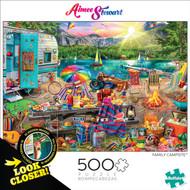 Look Closer Family Campsite 500 Piece Box