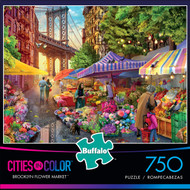 Cities in Color Brooklyn Flower Market 750 Piece Box