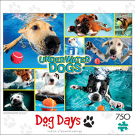 Dog Days Underwater Dogs 750 Piece Box