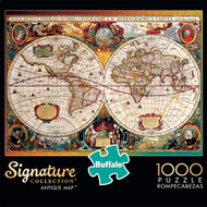 Signature Collection Antique Map 1000 Piece Box