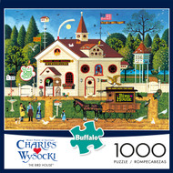 Charles Wysocki The Bird House 1000 Piece Box