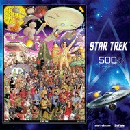 Star Trek™ The Original Series 500 Piece Jigsaw Puzzle Box