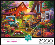 Bells Farm 2000 Piece Jigsaw Puzzle Box