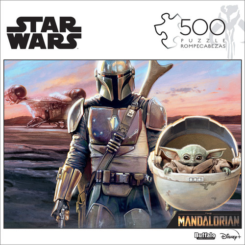 """Star Wars™ The Mandalorian """"This Is The Way"""" 500 Piece Jigsaw Puzzle Box"""