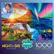 Night & Day Icelandic Mountain 1000 Piece Jigsaw Puzzle Box