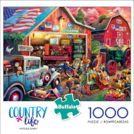 Country Life Antique Barn 1000 Piece Jigsaw Puzzle Box