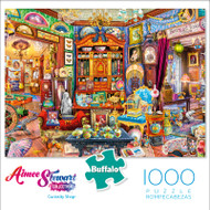 Aimee Stewart Curiosity Shop 1000 Piece Jigsaw Puzzle Box