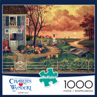 Charles Wysocki Supper Call 1000 Piece Jigsaw Puzzle Box