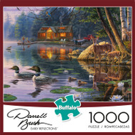 Darrell Bush Early Reflections 1000 Piece Jigsaw Puzzle Box