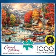 Chuck Pinson Treasures of the Great Outdoors 1000 Piece Jigsaw Puzzle Box
