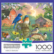 Hautman Brothers America's Heartland 1000 Piece Jigsaw Puzzle Front