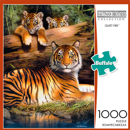 Hautman Brothers Quiet Fire 1000 Piece Jigsaw Puzzle Front