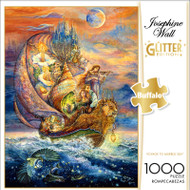 Josephine Wall Voyage to Murrlis Sea Glitter Edition 1000 Piece Jigsaw Puzzle Front