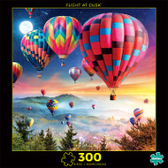 Photography Flight at Dusk 300 Piece Jigsaw Puzzle Front