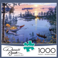 Darrell Bush Eagle-Eye View 1000 Piece Jigsaw Puzzle Front