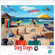 Dog Days Ruff Summer 750 Piece Jigsaw Puzzle
