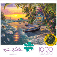 Kim Norlien Sunset Beach 1000 Piece Jigsaw Puzzle Front