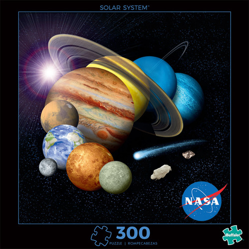 Photography Solar System 300 Piece Jigsaw Puzzle Front