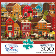 Charles Wysocki Lilac Point Glen 300 Large Piece Jigsaw Puzzle Front