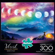Vivid Moon Cycle 300 Large Piece Jigsaw Puzzle Front