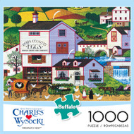 Charles Wysocki Virginias Nest 1000 Piece Jigsaw Puzzle Front