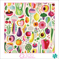 Art of Play Fruits & Veggies 300 Large Piece Jigsaw Puzzle Front