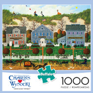 Charles Wysocki Nantucket Winds 1000 Piece Jigsaw Puzzle Front