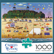 Charles Wysocki The Nantucket 1000 Piece Jigsaw Puzzle Front