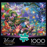 Vivid Fairy Forest 1000 Piece Jigsaw Puzzle Front