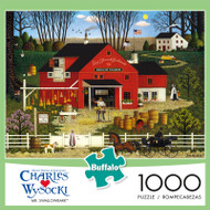 Charles Wysocki Mr. Swallowbark 1000 Piece Jigsaw Puzzle Front