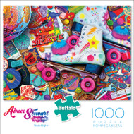 Aimee Stewart Skate Night 1000 Piece Jigsaw Puzzle Front