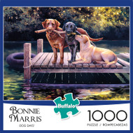 Bonnie Marris Dog Days 1000 Piece Jigsaw Puzzle Front