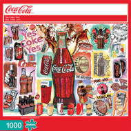 Coca-Cola Yes Coke Yes 1000 Piece Jigsaw Puzzle Front