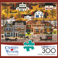Charles Wysocki Hawkriver Hollow 300 Large Piece Jigsaw Puzzle Front