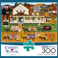 Charles Wysocki Storin' Up 300 Large Piece Jigsaw Puzzle Front