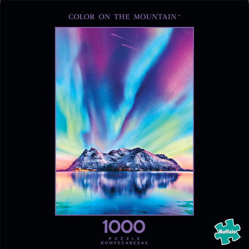 Photography Color on the Mountain 1000 Piece Jigsaw Puzzle Front