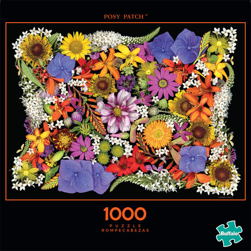 Photography Posy Patch 1000 Piece Jigsaw Puzzle Front