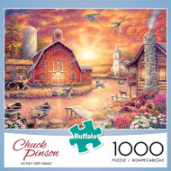 Chuck Pinson Honey Drip Farms 1000 Piece Jigsaw Puzzle Front